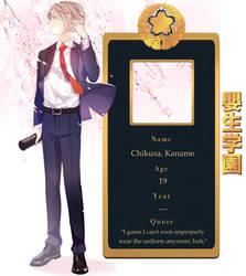 MnK: Kaname Chikusa by sachidraws