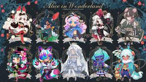 [CLOSED] Collab Auction1: Alice in Wonderland