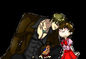 Elias and Hitomi reconcilation