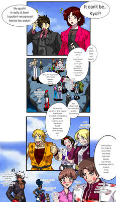 KOF 2001 Special Hero Team story page eight