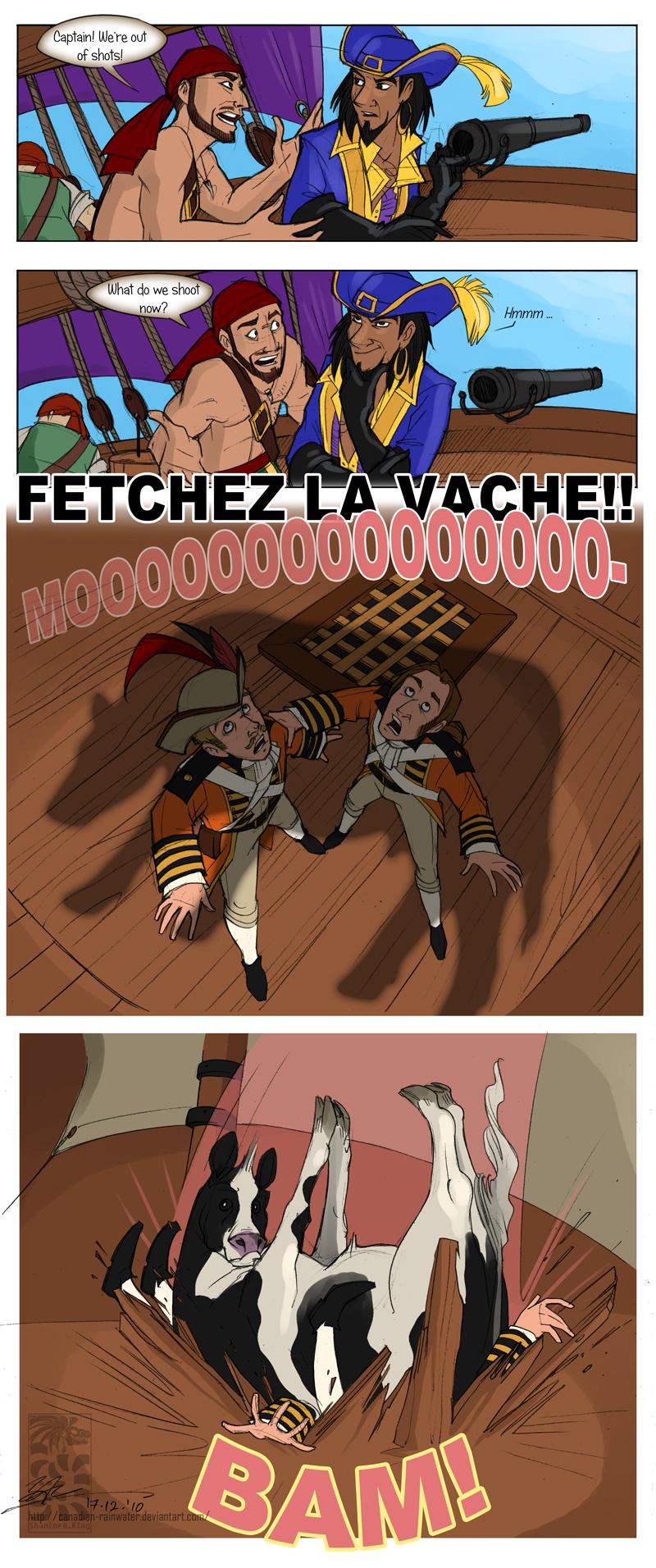 Fetchez La Vache! by Quarter-Virus