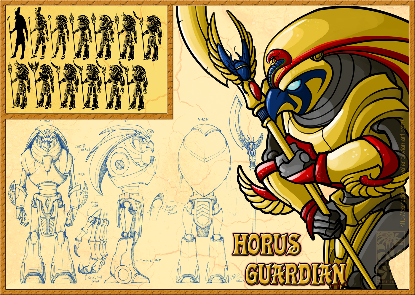 Horus Guard - Final by Canadian-Rainwater
