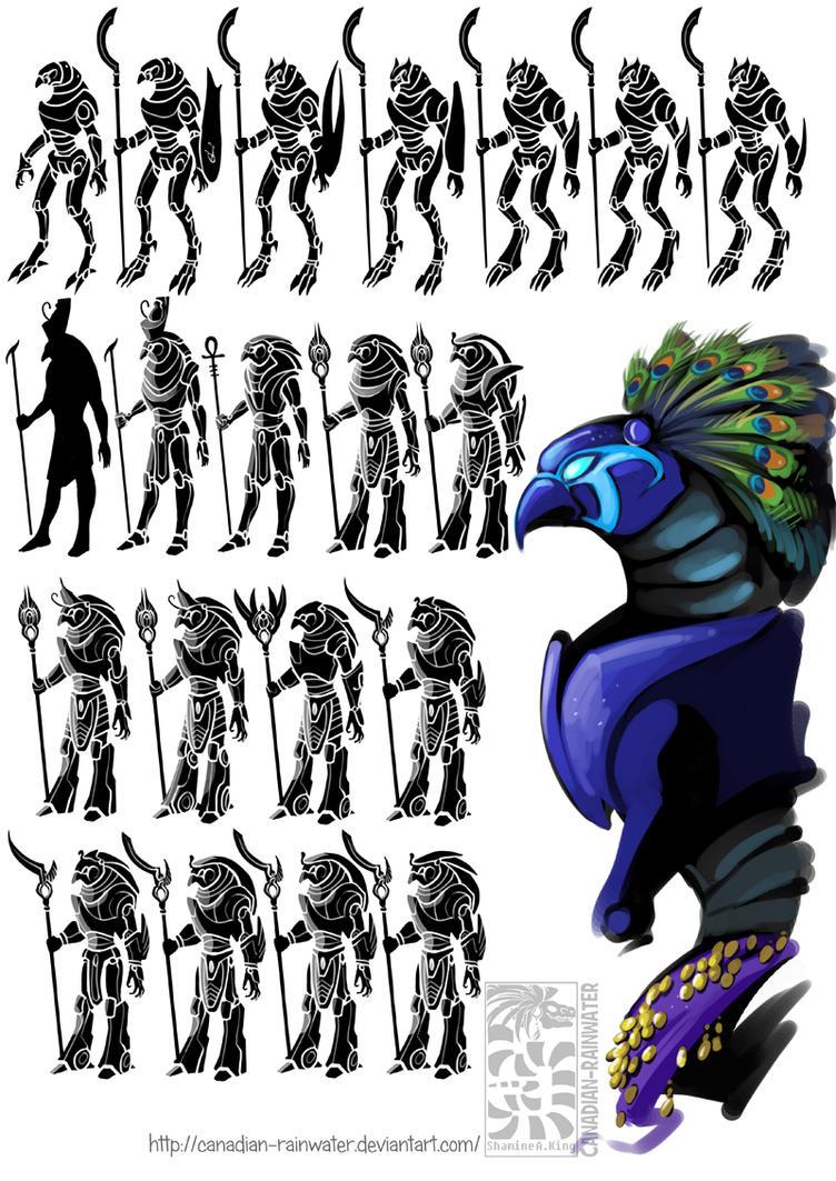 Horus - Redesign Thumbnails by Quarter-Virus