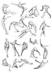 Body Frame Doodles by Quarter-Virus