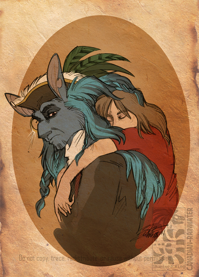 Pirate Hugs by Canadian-Rainwater