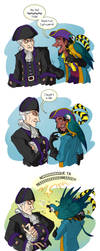 Clopin's Parrot, Same Question by Quarter-Virus
