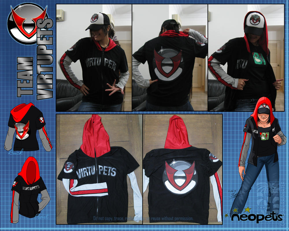 TEAM VIRTUPETS Hoodie by Canadian-Rainwater