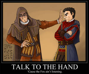 Talk To The Hand by Quarter-Virus
