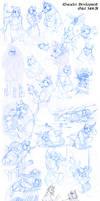 Jackal Sketchdump by Quarter-Virus