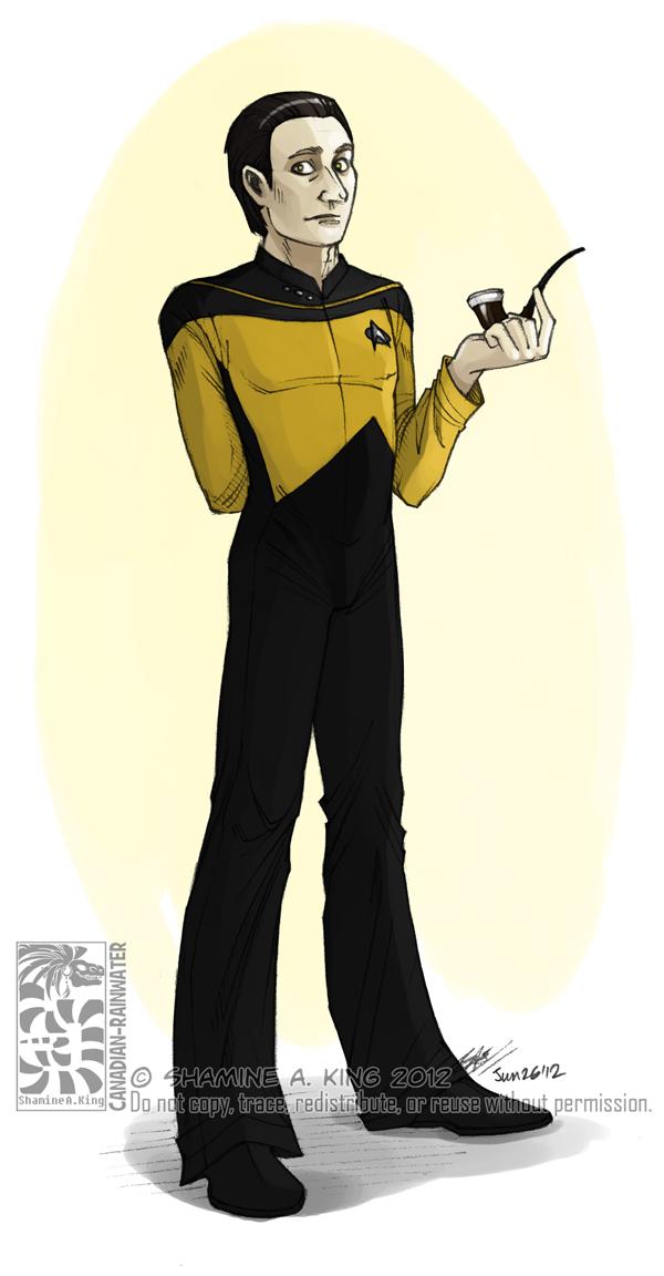Elementary, My Dear Riker ... Sir by Canadian-Rainwater