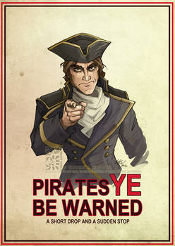 Pirates Ye Be Warned