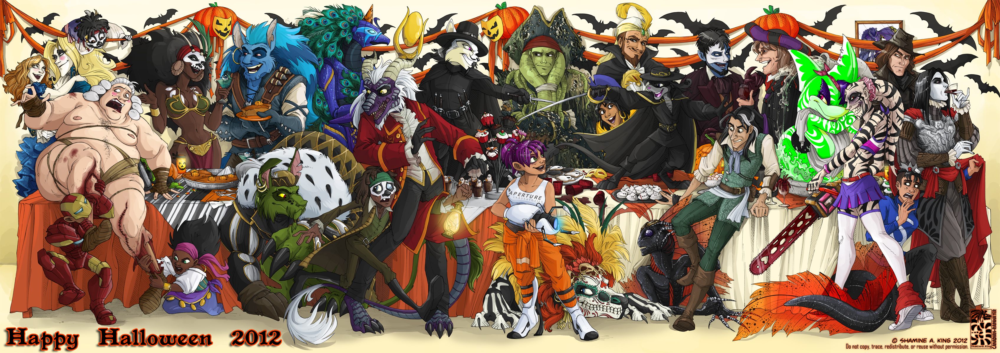 HAPPY HALLOWEEN from the Harem!