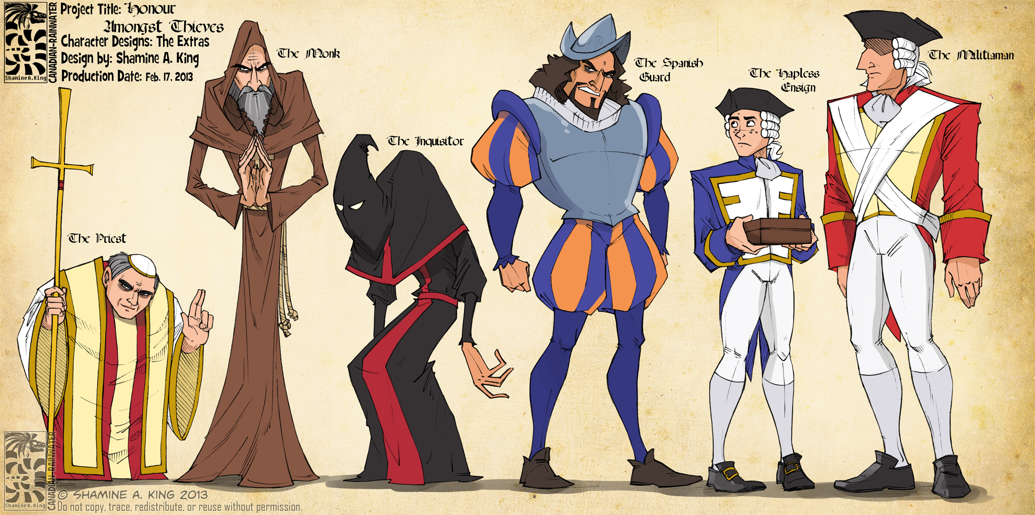 HAT - Extra Characters Lineup by Quarter-Virus