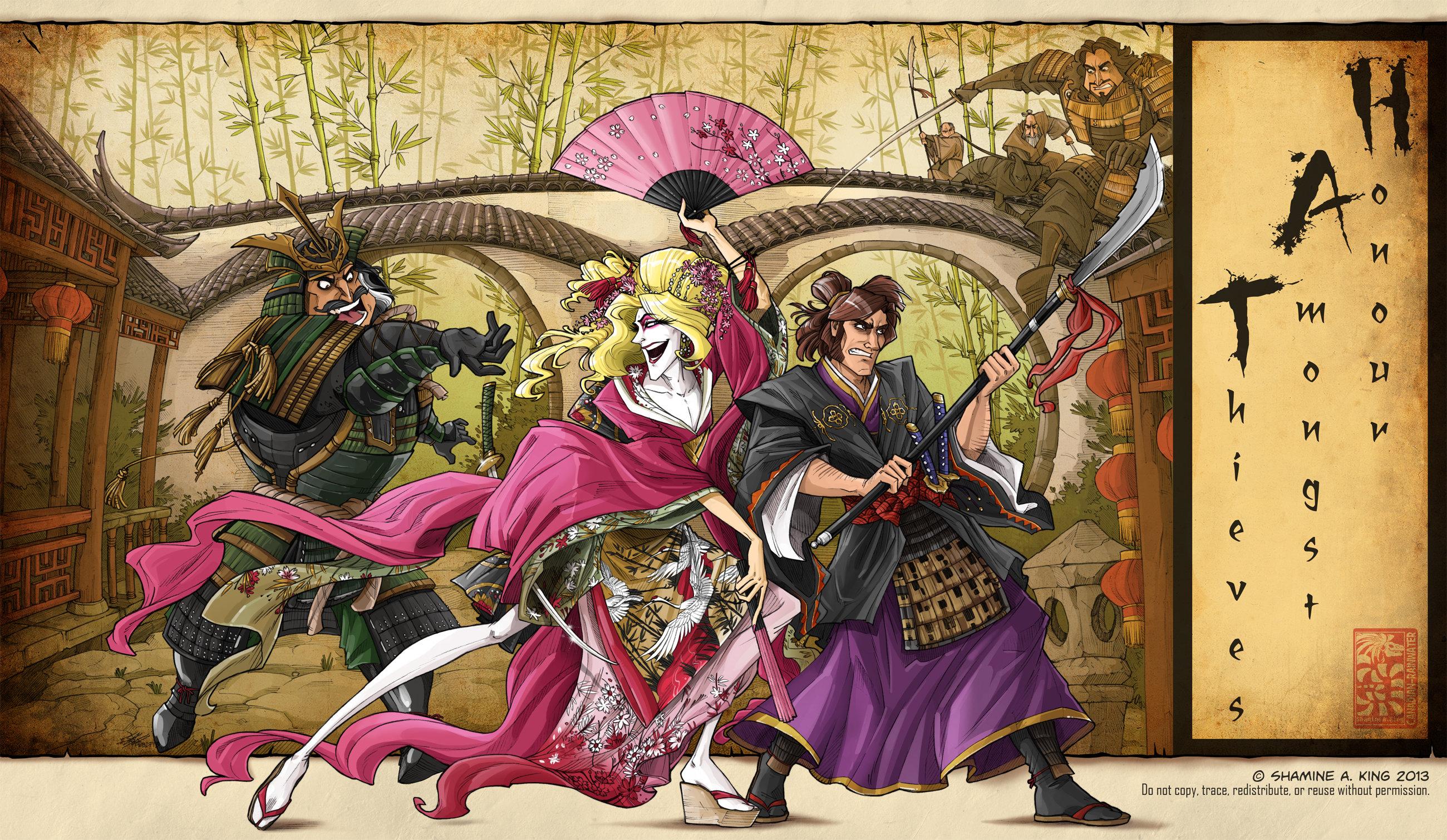 Honour Amongst Shoguns by Quarter-Virus