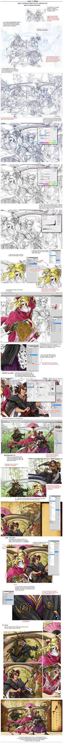 Quickie Tutorial: Color and Composition by Quarter-Virus