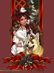 Merry Christmas Naomi by Quarter-Virus