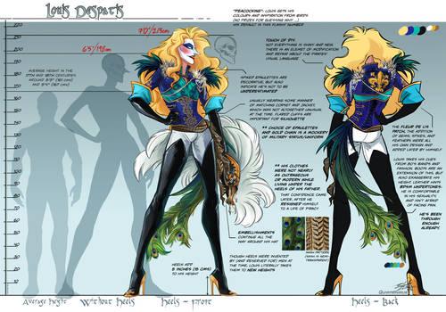 Character Sheet - Louis Despatis (Pirate)