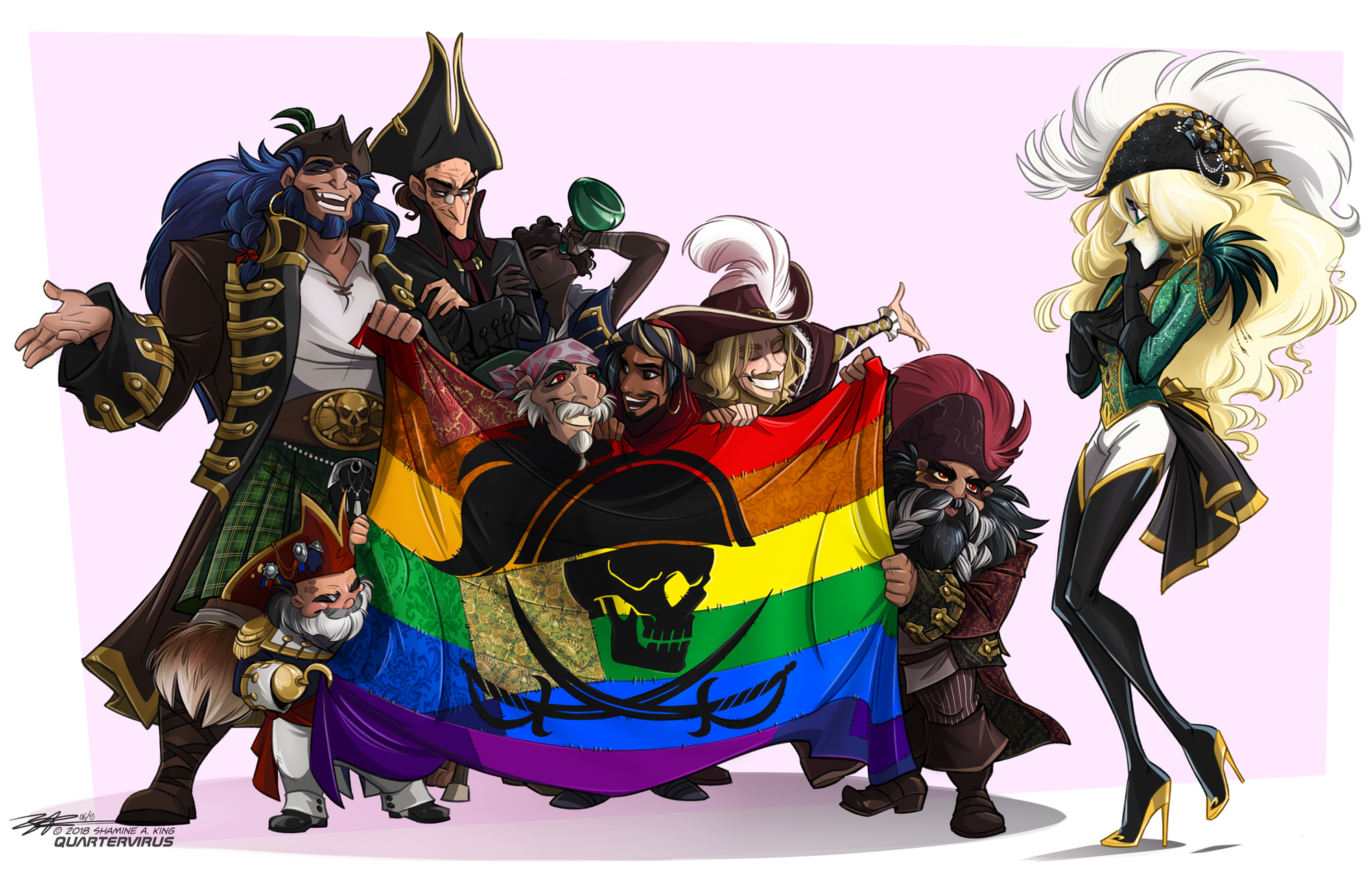 Pride Pirates by Quarter-Virus