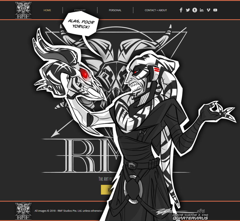 RMF Studios Dot Com by Quarter-Virus