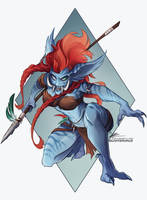 Commission: Alishi by Quarter-Virus