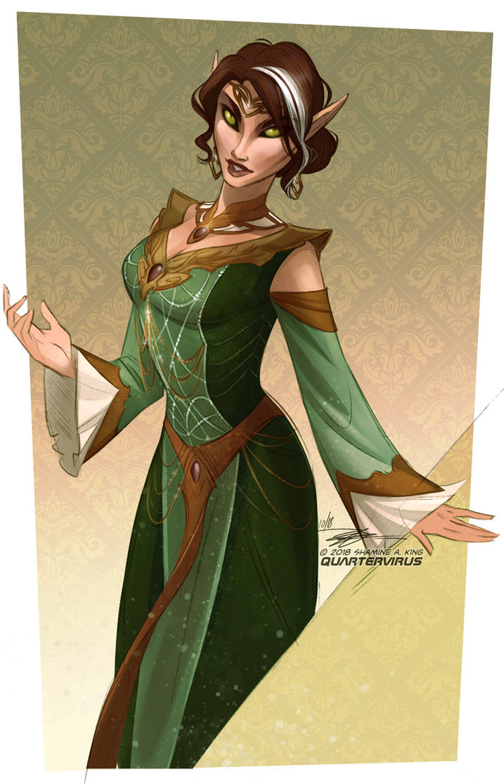 Lady Salingor by Quarter-Virus