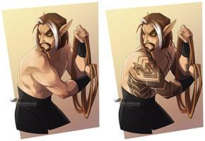 Melaril, King of Biceps by Quarter-Virus