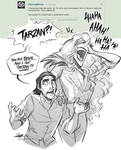 Tarzan and Bowie