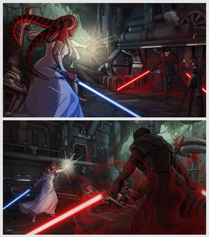 Commission: Dual of Fates