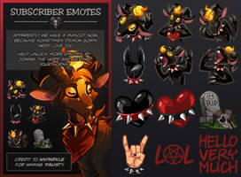 Twitch Emotes - Meet Faust!