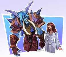 Commission - WoW Couple