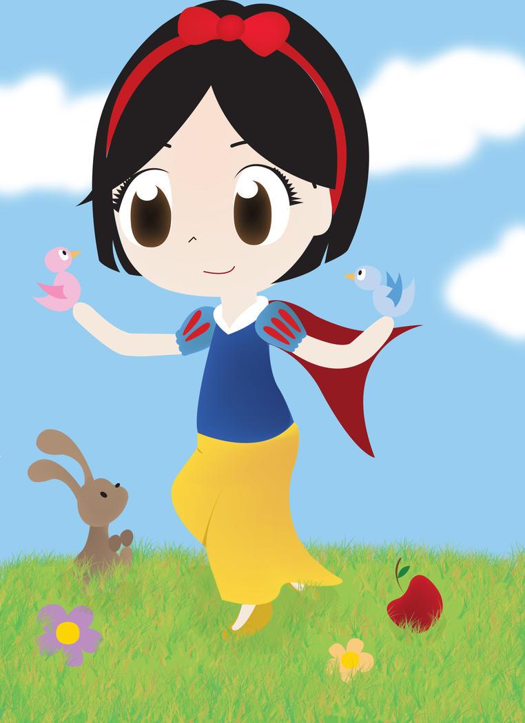 My Chibi Snow White by PetiteTangerine