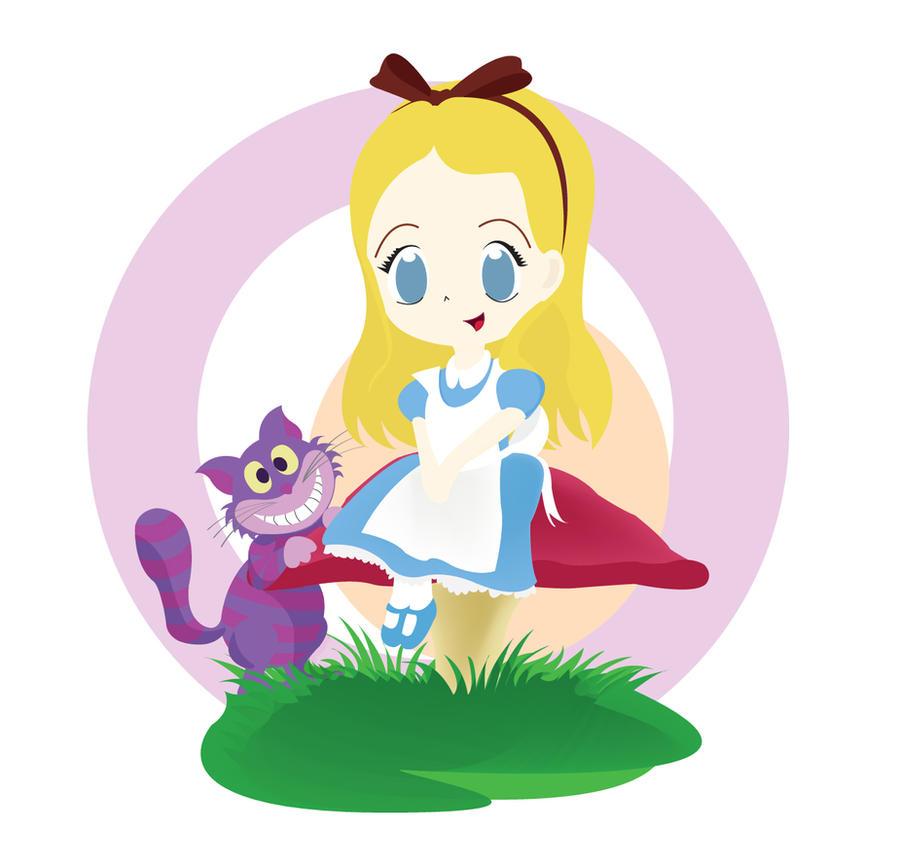My Chibi Alice in Wonderland by PetiteTangerine