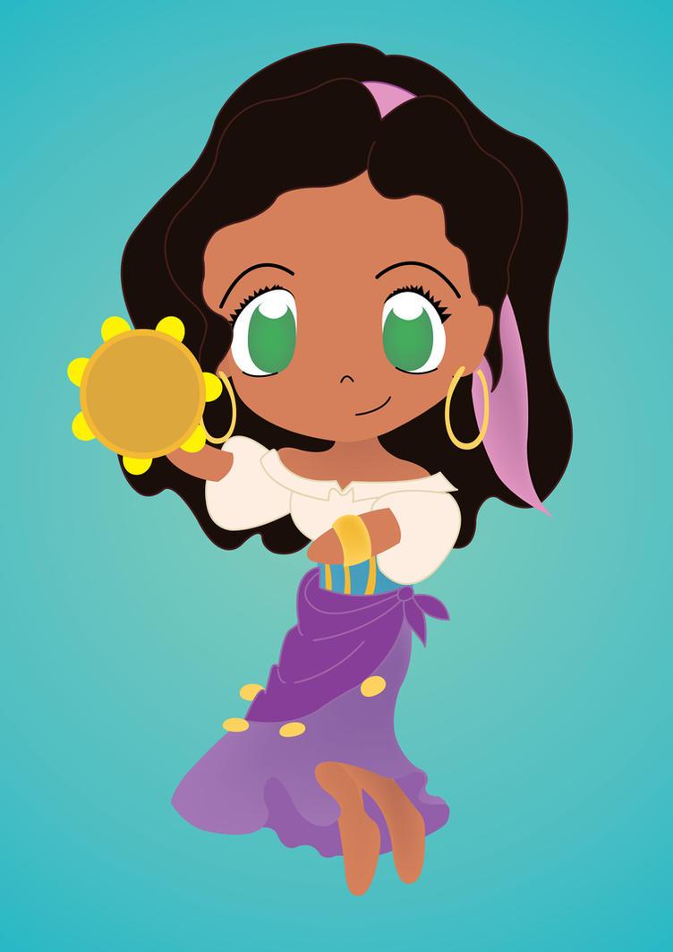 My Chibi Esmeralda by PetiteTangerine