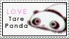 Tare Panda Stamp by PetiteTangerine