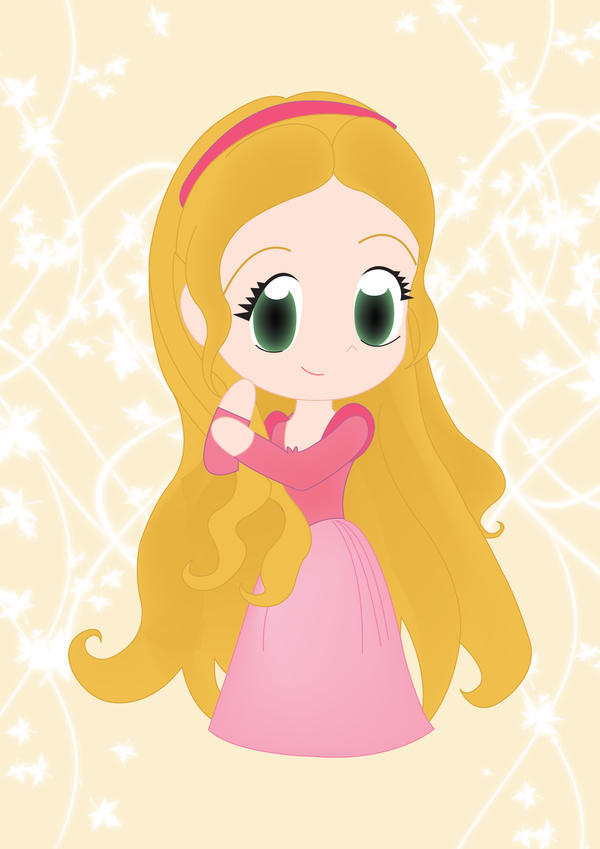My Chibi Rapunzel First ver. by PetiteTangerine