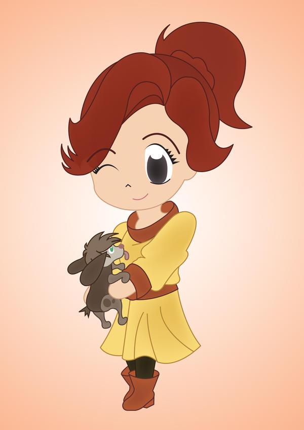 My Chibi Anastasia by PetiteTangerine
