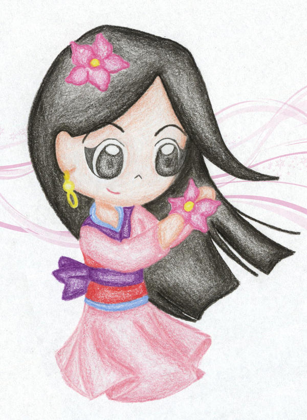 My Chibi Mulan 1 by PetiteTangerine