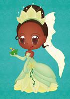 My Chibi Tiana by PetiteTangerine