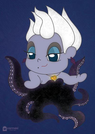 My Chibi Ursula by PetiteTangerine