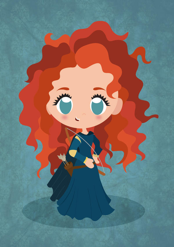 My Chibi Merida by PetiteTangerine