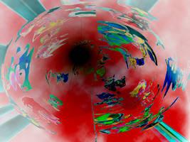 Sonic Wallpaper Redo Red by assc