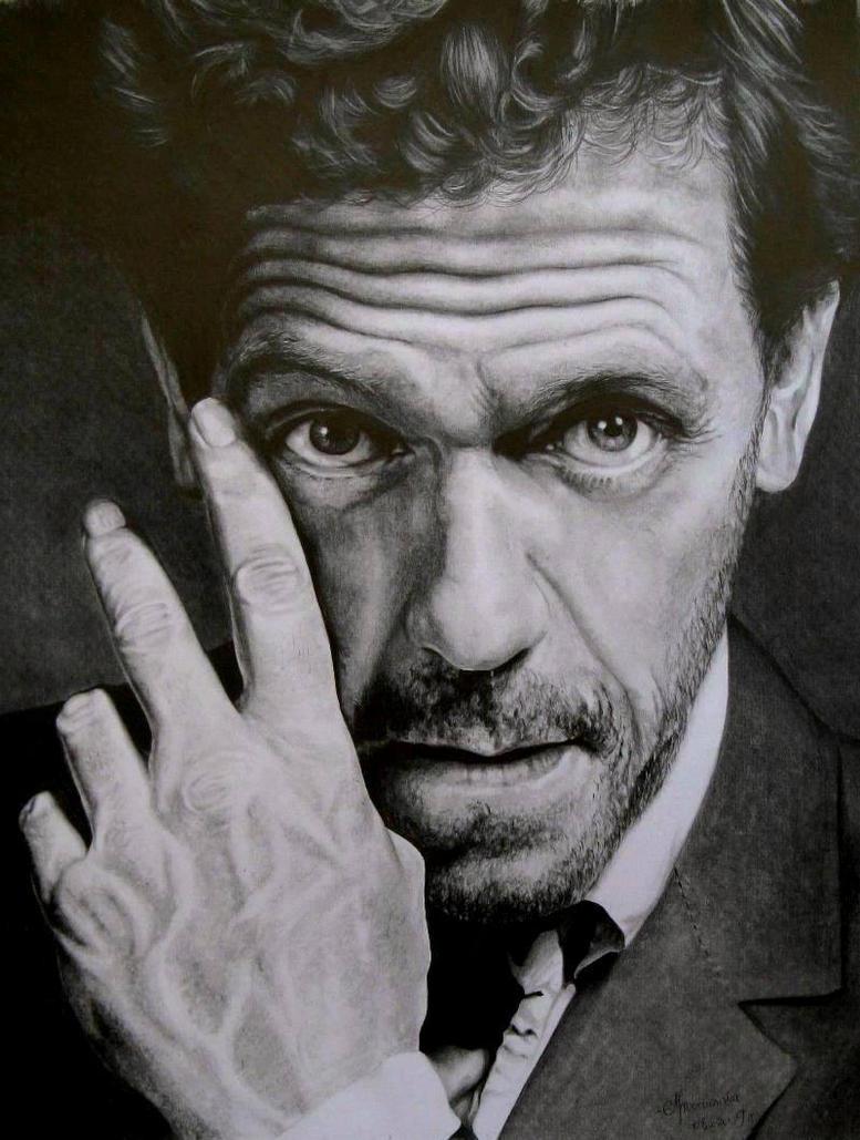 Hugh Laurie by LochaSnejpa