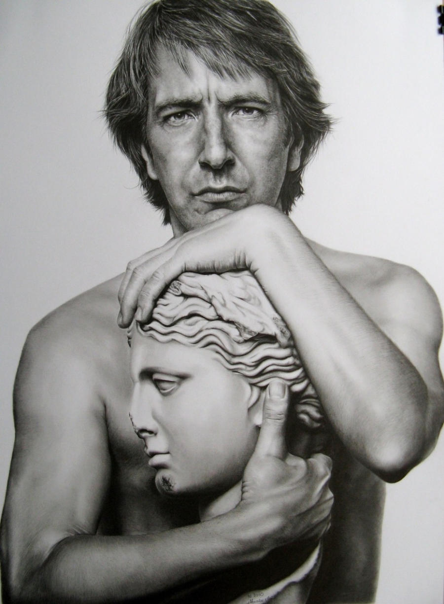 Alan Rickman by LochaSnejpa
