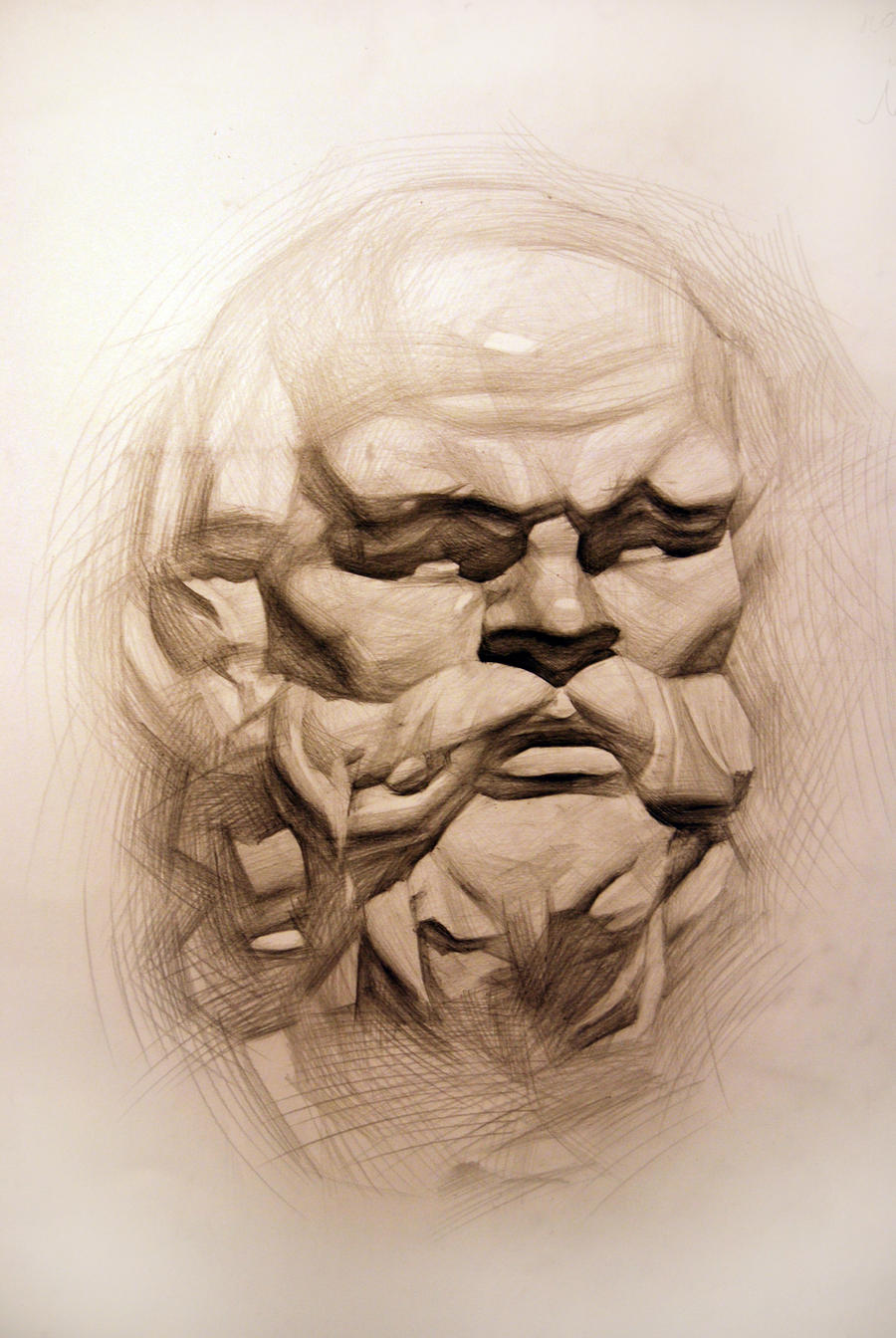 Socrates by mark-lastovsky