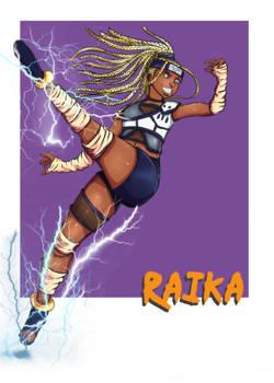 Naruto OC- Raika (updated)
