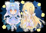 Commission: Chibi stars
