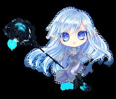 Chibi Commission: Shiorihikaru by KarameruYukika