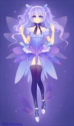 Snow Fairy Adoptable Bid [Closed] by KarameruYukika