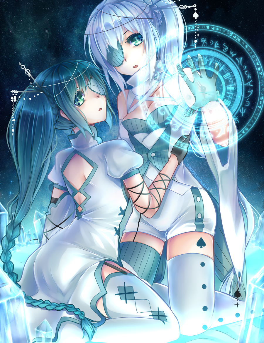 CM: Time Twins by CaramelCaprice