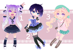 Adopts 1 [3/3 Open] by KarameruYukika